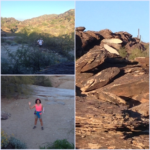 Sunset hike at Buena Vista to Hidden Valley, South Mountain (3/8/2015)